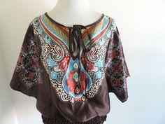 Charlotte Russe Top Shirt Blouse S Small Boho Bohemian #CharlotteRusse #Blouse