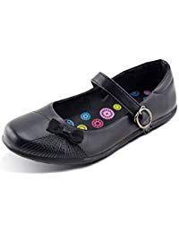 dfae24c7ead0c Girls School Uniform Shoes Oxford Embroidered Mary Jane Flat #girl ...