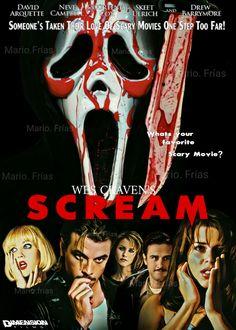 Scream 1996 Wes Craven Horror Movie Slasher Fan Made Edit By Mario. Frías