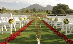 Who would not want to walk down this aisle?