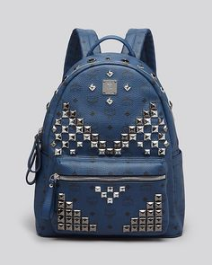 MCM Backpack - Stark Medium Stud