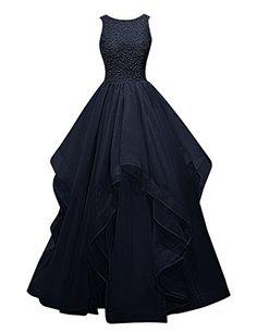 Dresstells® Long Prom Dress Asymmetric Bridesmaid Dress Beaded Organza Gown Dresstells http://www.amazon.co.uk/dp/B018G59NQM/ref=cm_sw_r_pi_dp_PA2Iwb0ETS70C
