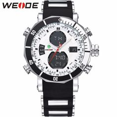 WEIDE Men Sports Watches Waterproof Military Dual Time Zones http://mobwizard.com/product/weide-men-sports/