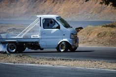 Car Japanese Kei Truck 【軽トラ】perfect for drifting Suzuki Every, Kei Car, Ac Cobra, Mini Trucks, Daihatsu, Japanese Cars, Pickup Trucks, Automobile, Bike