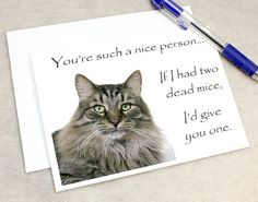 Catty Cards Greeting Cards. Krishna the Tabby Cat. by FidoandFifi
