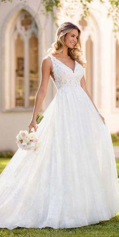 Courtesy of Stella York Wedding Dresses #weddingdress