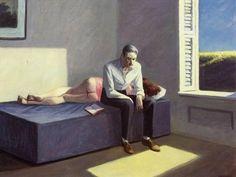Edward Hopper - Excursion into Philosophy, 1958. Oil on canvas