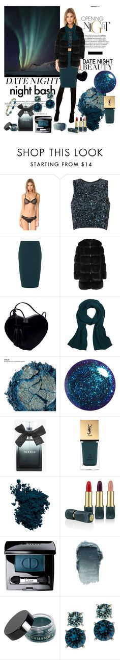 """#datenight"" by manueladimauro ❤ liked on Polyvore featuring Louis Vuitton, Calvin Klein Underwear, Collectif, Givenchy, Brooks Brothers, Urban Decay, Torrid, Yves Saint Laurent, Laura Mercier and Oribe"