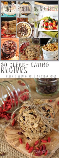 Looking for some delicious recipes for your 30 day cleanse? Click the photo to find recipes for 30 of the best cleanse foods - from breakfast to dessert.