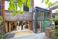 House extension designs House Extension Design, Extension Designs, Roof Beam, Townhouse Designs, Long House, London Architecture, Tower House, Roof Light, House Extensions