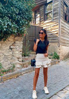 Falda de lunares @esraacoban