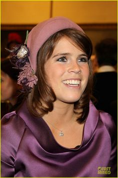 Princess Eugenie...love her in this color!