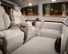 Interior of a Mercedes-Benz Viano Vision Diamond – Luxury Van