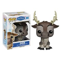 Sven Funko Pop Vinyl figure from the hit movie Frozen Brought to you by Pop In A Box, the site Funko Pop! Vinyl shop