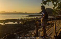 atardecer en las cabanas beach el nido filipinas (2)