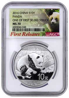 NGC MS70 2019 China 30g Silver Panda Coins Set First Releases