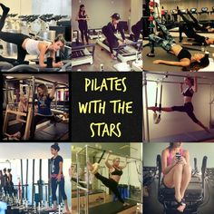Pilates with the Stars- checkout which popular and fit celebrities practice Pilates to stay in shape!