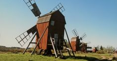 Öland - wooden windmills in sweden - Given its relatively small population Sweden has a surprising abundance of cultural treasures. This has been recognised in recent years by UNESCO who have awarded 14 Swedish sites with World Heritage status