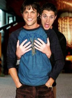 One of my favorite pictures of the boys <3 #J2 #Supernatural