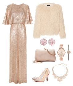 """Untitled #44"" by algena on Polyvore featuring Temperley London, Nili Lotan, Christian Louboutin, LC Lauren Conrad, Michael Kors, Kate Spade and Emilio!"