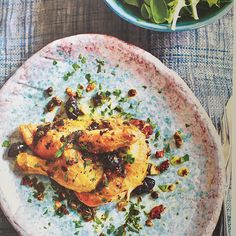 The Times Mag today shows part of my epic global tour 'The Masters at Home' for @masterchefworld .. Tetsuya's spatchcock with olives & capers