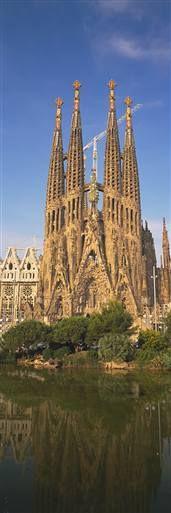Vertical Wall Graphics from Walls 360: Sagrada Familia, Barcelona, Spain