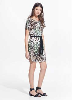 SPECIAL COUNTRIES - Vestido estampado leopardo
