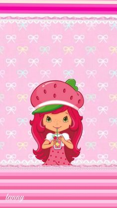 Strawberry Shortcake Pictures, Kitty Wallpaper, My Little Pony, Princess Peach, Hello Kitty, Berries, Disney, Fictional Characters, Wallpapers