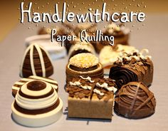 """Check out new work on my @Behance portfolio: """"Sweet quilled chocolates"""" http://be.net/gallery/31444689/Sweet-quilled-chocolates"""
