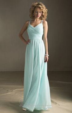Mori Lee 20412 - available in long and short - in blue