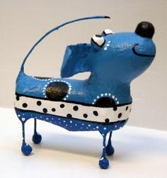 Hond Blauw / Dog Blue