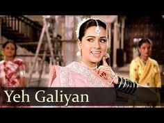 Yeh Galiyan Yeh Chaubara - Padmini Kolhapure - Rishi Kapoor - Prem Rog Songs - Bollywood Songs - YouTube