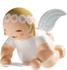 """Marguerite / Small Flying Angel with Sheet Music -1"""""""