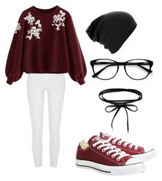 """Untitled #15"" by precious-24 on Polyvore featuring Converse, River Island and EyeBuyDirect.com"