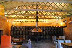 Interior wine distillery  Click to see finished project