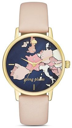 kate spade new york Metro Going Places Watch, 34mm