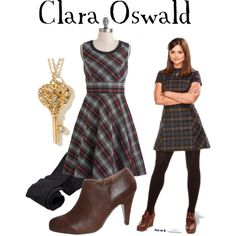 Clara Oswald by companionclothes on Polyvore