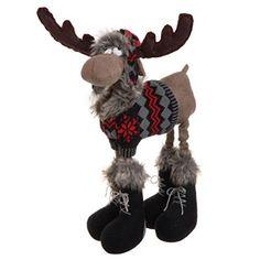 Christmas moose, oh gosh he is cute!!