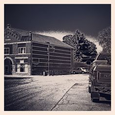 Foreston, IL....not a big fan of B/W, but thought I would try it - @frankyboy1- #webstagram