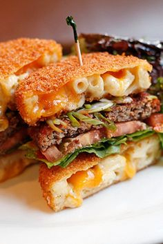 Mac 'n' Cheese Burger