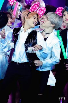 Jimin and Tae stans: constantly comparing and bickering about things. Desperately asserting that JM and Tae hate each other. This ones for all of you cause while you're hating, VMIN; Bts Jimin, Bts Bangtan Boy, Bts Taehyung, Bts Boys, Jikook, K Pop, Foto Bts, Seokjin, Namjoon