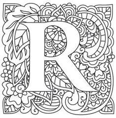 Mendhika Letter R_image