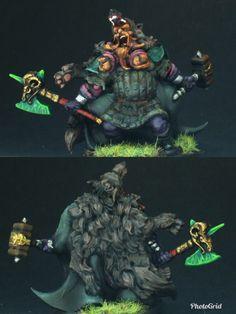 Dwarf Fighter :CMON Zombicide Green Horde Dwarf Fighter, Zombicide Black Plague, Horde, Mini Paintings, Minis, Berlin, Geek Stuff, Fantasy, Green