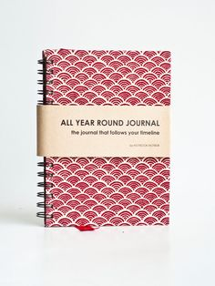 All Year Timeless Journal - Japanese Wave. - Really love the design and layout of this journal. A must have.