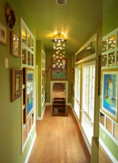 Hallway Gallery Design, Pictures, Remodel, Decor and Ideas
