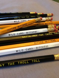 Always Sunny Inspired Pencil 12 Pack by Earmark on Etsy