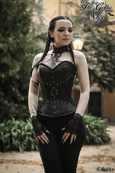 Model: Silky Outfit: The Gothic Shop Welcome to Gothic and Amazing | www.gothicandamazing.com