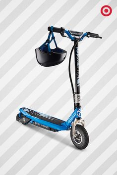 A great gift idea for kids who like to feel a little wind in their hair. This electric scooter from Bravo speeds up to 13mph with 40 minutes of riding time and an extra-large standing platform. Don't forget safety! It comes with an impact-resistant helmet.