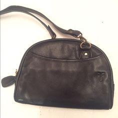 Spotted while shopping on Poshmark: Genuine leather black cross body purse! #poshmark #fashion #shopping #style #Frye #Handbags