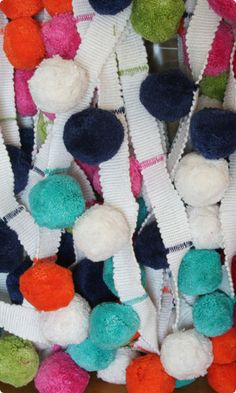 Smarties Cotton Bobble Trim Extra Large